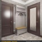 http://aspdom.com/design/16065/prikhozhaya-v-kvartire..Прихожая в квартире в Санкт-Петербурге